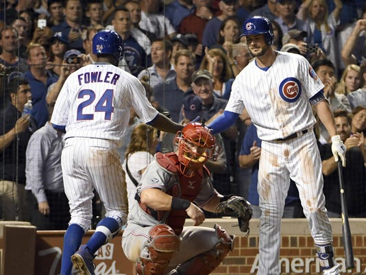 MLB: Cincinnati Reds at Chicago Cubs