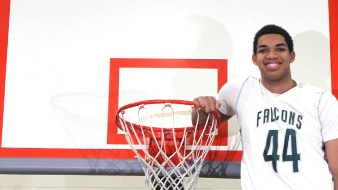 Karl-Anthony Towns was a towering presence at St. Joseph High School.