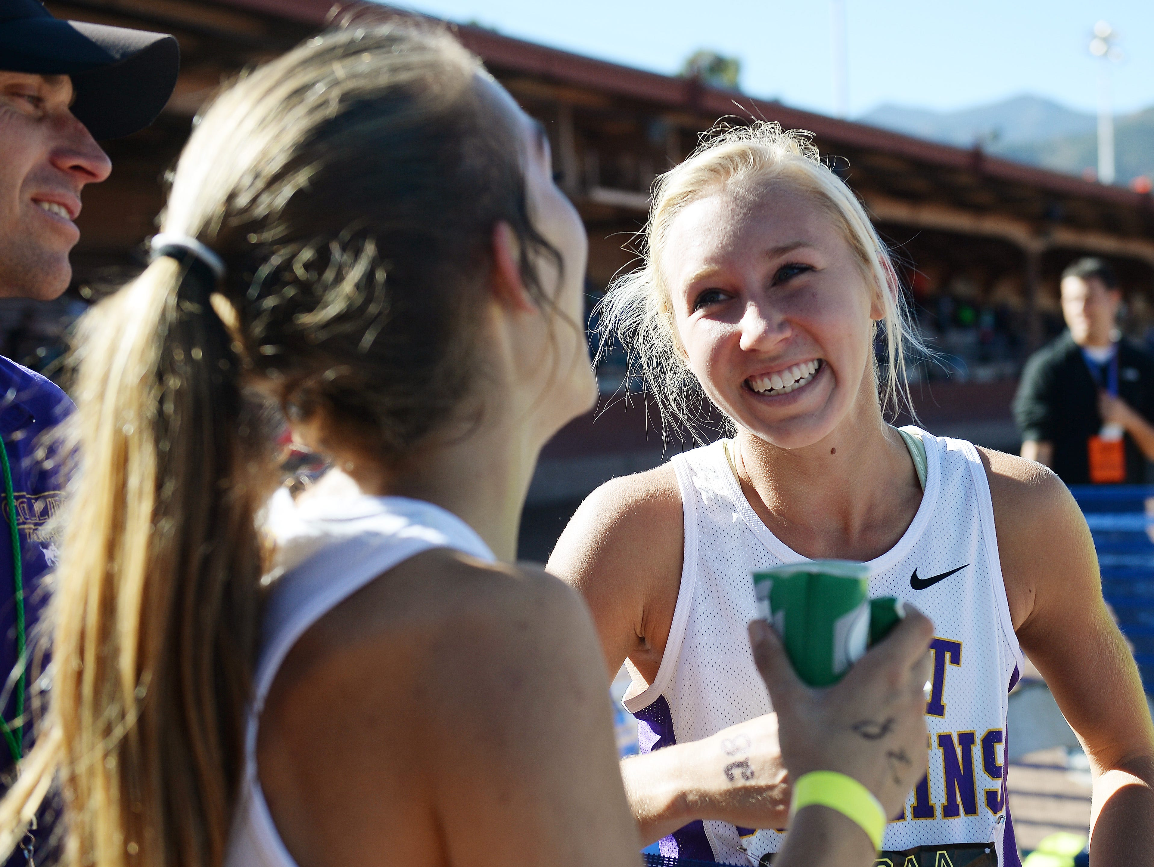 Fort Collins High School's Lauren Gregory, shown at this season's state meet, has qualified for the Foot Locker Cross Country Championships.