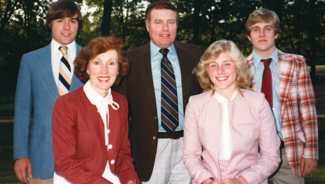 Jeanne Clery, bottom right, was 19 when she was raped and murdered  in her Lehigh University dorm room in April 1986. After her death, her family successfully advocated for a law that requires colleges to report crimes on campus.