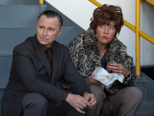 "Robert Carlyle and Emma Thompson star in ""Barney Thomson."""