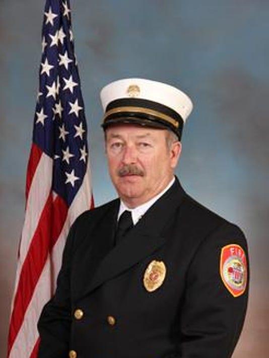 Fire Chief Max Stewart