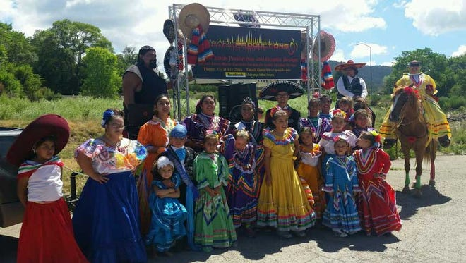 """The Saint Francis de Paula Folklorico, better known as the """"fiesta dancers,"""" will perform during the Carrizozo Festival Saturday. They will be part of the parade, at 4 p.m., and will perform immediately following it near Spider Park."""