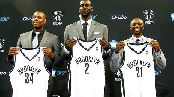USP NBA: BROOKLYN NETS-PRESS CONFERENCE S BKN USA NY