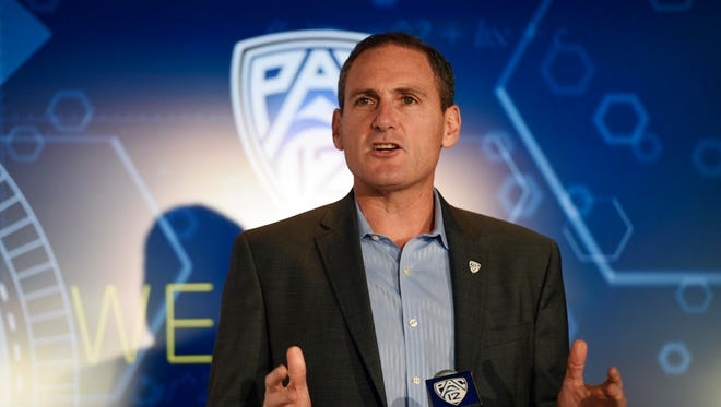 """""""The Pac-12 is proud to join this effort to build a culture on college campuses in which everyone has a responsibility to stop sexual violence,"""" said Pac-12 Commissioner Larry Scott."""