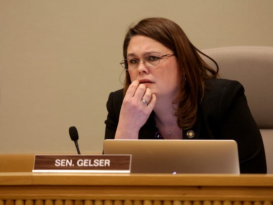 Sen. Sara Gelser, photographed on Feb. 2, 2016.