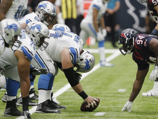 Detroit Lions v Houston Texans