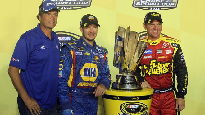 Michael Waltrip Racing's team orders scandal cast a pall over the Chase for the Sprint Cup in 2013.