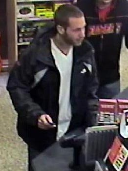 State police asked Thursday for tips to identify this man, shown at a Wawa in Claymont where they say he hit a pedestrian and fled.