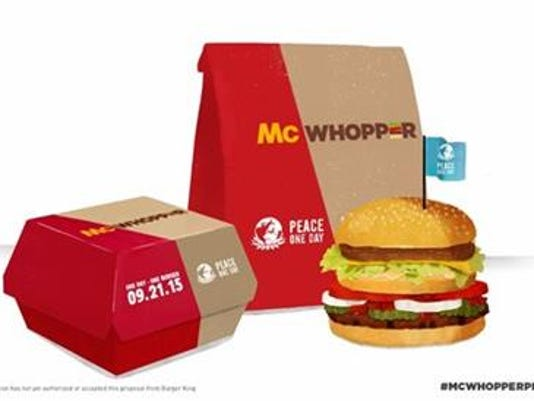 Could the McWhopper be coming for a day?