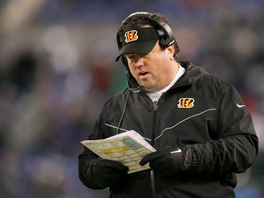 Cincinnati Bengals defensive coordinator Paul Guenther