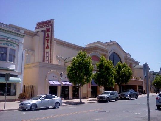 Maya Cinemas in Oldtown Salinas.
