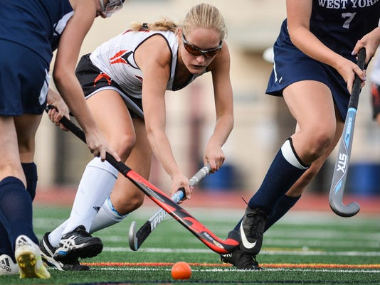 West York vs Central York field hockey