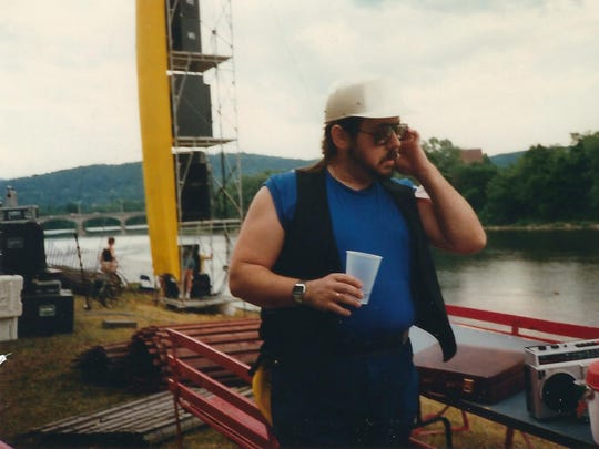 Local theater legend Alan Mica helped to set up Pops on the River in 1987.