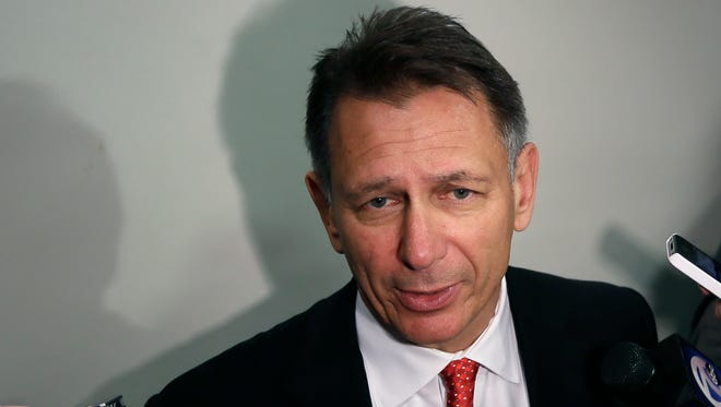 Detroit Red Wings general manager Ken Holland will be drafting at No. 15 next month.