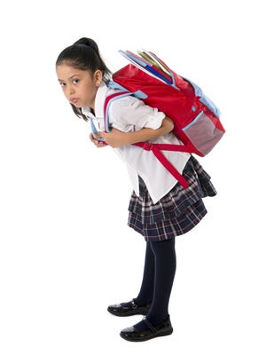 Wearing a backpack incorrectly can lead to severe back, neck and shoulder pain, as well as posture problems.