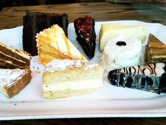 Tuttu Fresco's dessert tray.