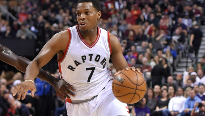 Toronto Raptors guard Kyle Lowry (7) did not get named to start for Eastern Conference All Stars.