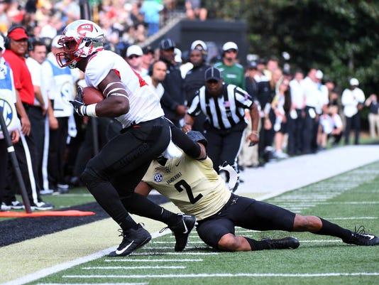 NCAA Football: Western Kentucky at Vanderbilt