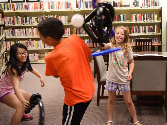 Rochelle Park Library grand opening as it re-joins