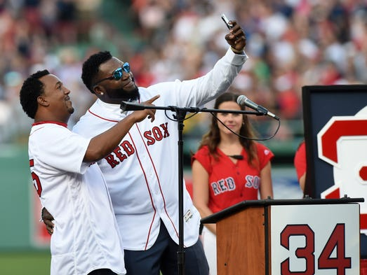 June 23: Former Boston Red Sox player David Ortiz takes