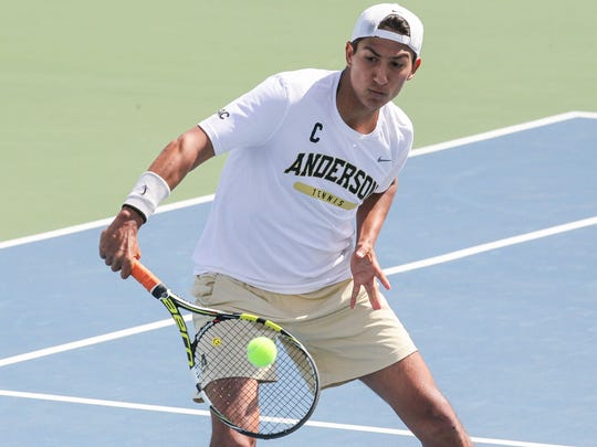 Nicolas Ascarrunz is a senior co-captain with Juan Carracedo for the Trojans.