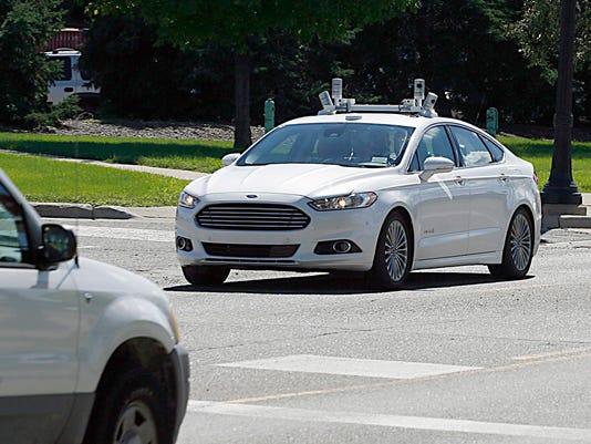 DFP Ford autonomous vehicle