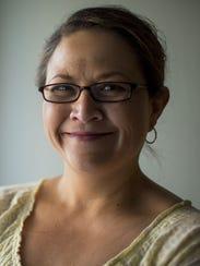 Alexis Tameron, presidenta del Partido Demócrata de