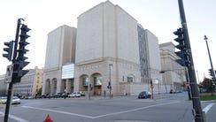 The Milwaukee County Jail building.