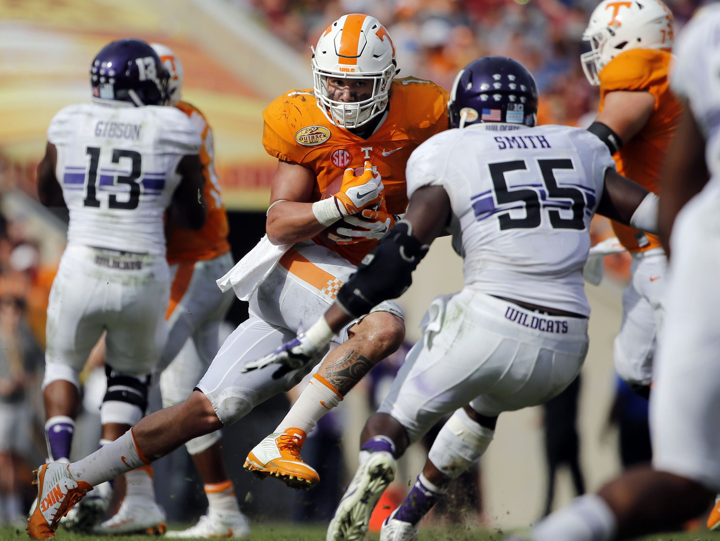 In just two seasons at Tennessee, former Beech star Jalen Hurd is less than 1,000 yards shy of becoming the school's all-time leading rusher.