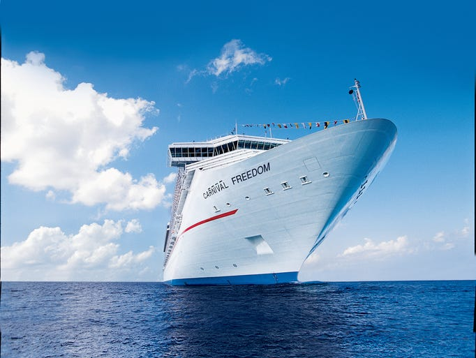 53. Carnival Freedom, built by Carnival Cruise Line