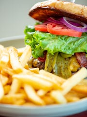 Pictured is the El Jefe Burger available at El Patron