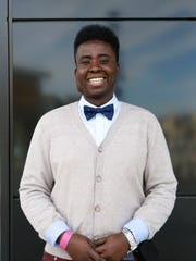 Franck Louisy, 22, of Spring Valley shares his resolutions