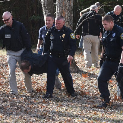 Mountain Home police carry  34-year-old Mountain Home
