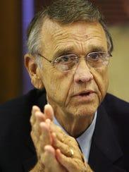 Jack Morris addresses The Med's board after taking