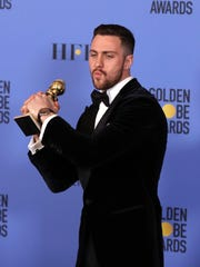 "British actor Aaron Taylor-Johnson took best supporting actor for his performance in Tom Ford's ""Nocturnal Animals."""