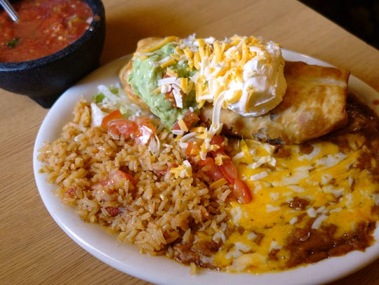 Trailing the Pack: Machaca Chimichanga at Popo's Fiesta