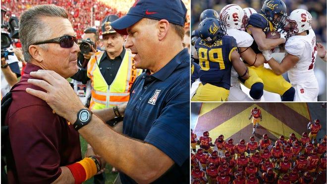 The Pac-12 football season gets underway on Sept. 3, 2015.