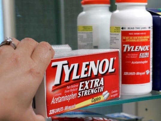 AP CORRECTION Tylenol Safety FDA