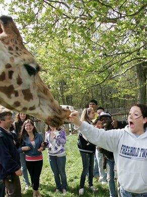 2010: Freehold Township High School science classes visited Six Flag Great Adventure's Safari to get a behind the scenes look.