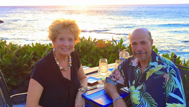 Marti and Al Santos enjoy traveling and hope to do some cruises after he retires March 31.
