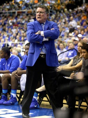 MTSU women's coach Rick Insell has maintained the same level of success he had at Shelbyville Central High School.