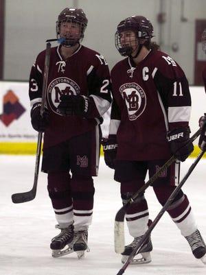Morristown-Beard junior Jenna Kurz and senior Ally Detre both reached milestones this season, as did senior Keegan Heher.