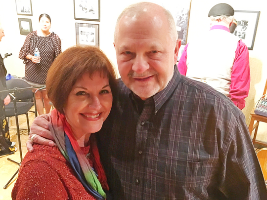 WRSFF Bill and Nancy Young sat in the audience at the Evansville Will Read and Sing For Food performance but their story was part of the show. From Nam to Newburgh told the story of how the two met and celebrated their 48 years together.