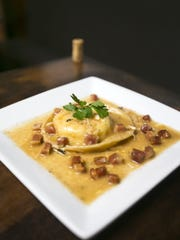 The pasta is the star of Evo's Raviolio.