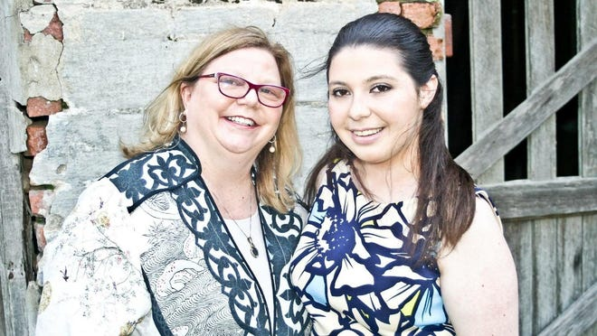 Jan Risher with daughter Greer.