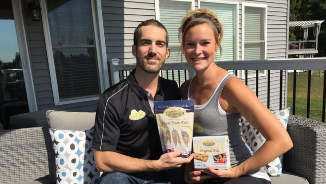 Michele Liddle, 34, and her husband, Jason, believe they provide safe and healthy food to those in need. Profits go toward donations to community homeless shelters and food programs.