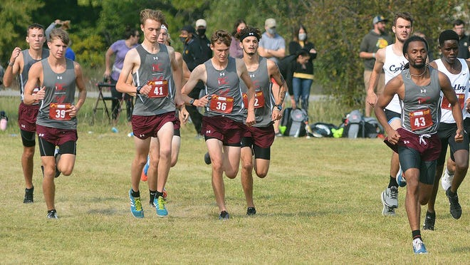 The Bethel College men's cross country team finished 10th Saturday at the Muthama-Rogers Invitational.
