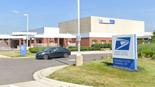 The U.S. Postal Service Columbus Processing & Distribution Center on the 2300 block of CityGate Drive, just south of Agler Road on the Northeast Side. The facility is near the interchange of Interstates 670 and 270 and northwest of John Glenn Columbus International Airport.
