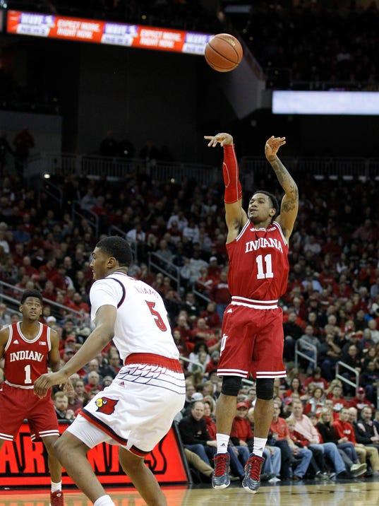 NCAA Basketball: Indiana at Louisville